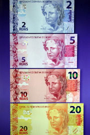 Brazil's real notes