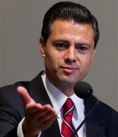 Enrique Pena Nieto, governor of the state of Mexico