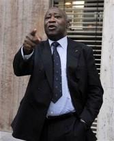 Laurent Gbagbo incumbent leader of Ivory Coast