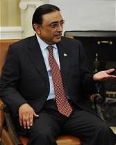 Asif Ali Zardari, president of Pakistan