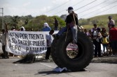 Indigenous Panamanians protest recent changes to the country's mining law