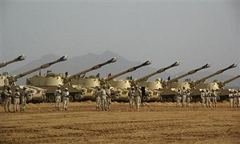 Saudi Arabian tanks