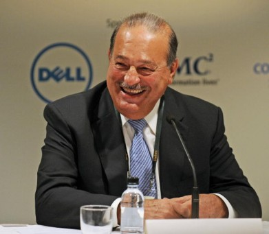 Carlos Slim Helu of Mexico