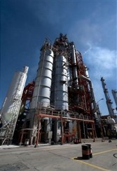 Pemex refinery in Tula, Hidalog state