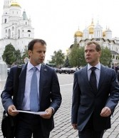Arkady Dvorkovich, president Dmitry Medvedev's economic adviser