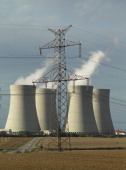 Temelin nuclear power plan in the Czech Republic