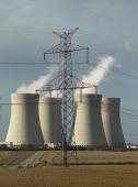 Temelin nuclear power plan in the Czech Republic