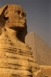 The Sphinx at Giza. Getty Images