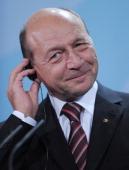Trajan Basescu, president of Romania. Nov 2011