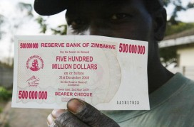 Zimbabwean currency? Take your pick of 9