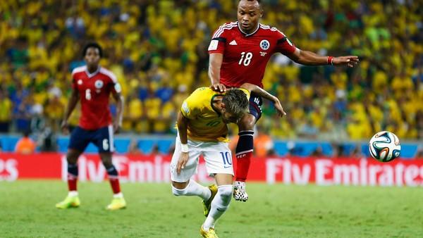 Internasional Piala Dunia  - Penjagal Yang Cederai Neymar Tidak Akan Dihukum