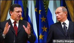 Putin and Barroso