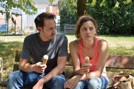 Fabrizio Rongione and Marion Cotillard in 'Two Days, One Night'