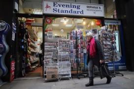 A London newsagent
