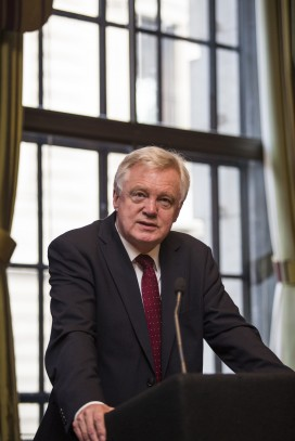 David Davis, the new cabinet minister responsible for Brexit
