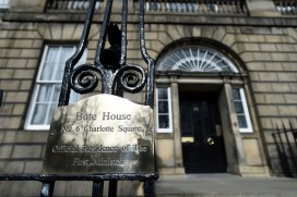 The official residence of Nicola Sturgeon, Scotland's first minister