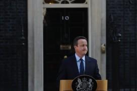 David Cameron resigns as prime minister after the referendum result