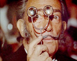 Imagine Dali working with Warhol