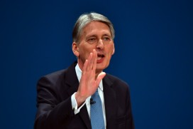 The new UK chancellor Philip Hammond