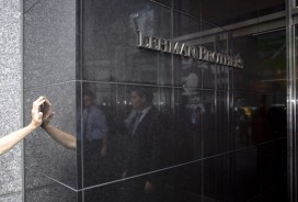 The exodus at Lehman Brothers amid the 2008 crisis