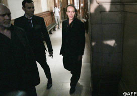 John Galliano appears before a Paris court