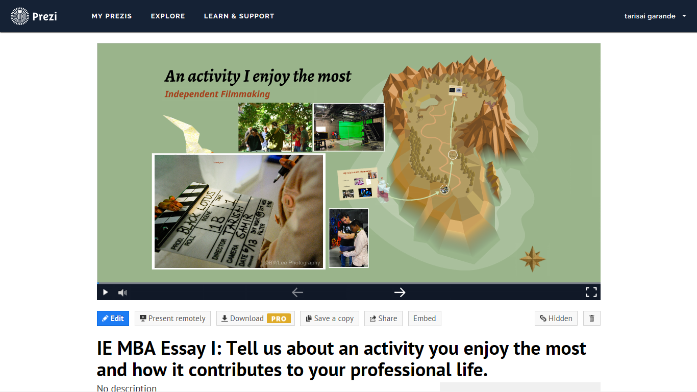 application essays it is your story so own it mba blog ie executive mba essay in prezi format