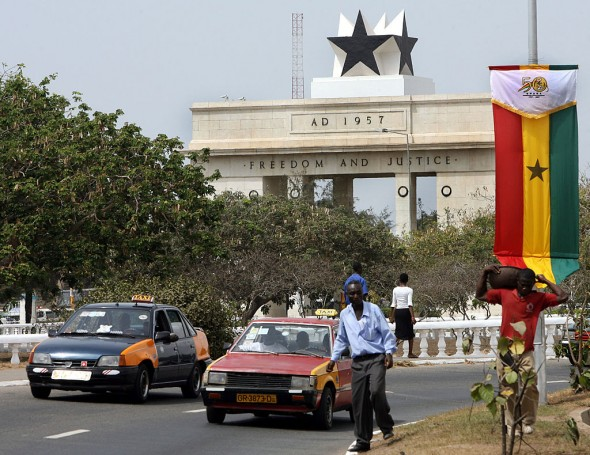 Accra, the capital of Ghana