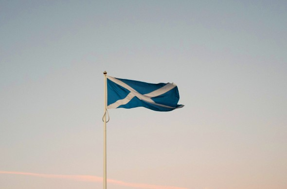 The Saltire national flag (Ian Forsyth/Getty Images)
