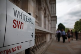 Whitehall Prepares For Major Cuts Under Coalition Government