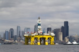 Shell's Polar Pioneer arrives in Seattle