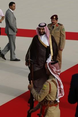 Deputy Crown Prince Mohammed bin Salman Of Saudi Arabia Visits Jordan