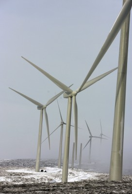Scottish Windfarm Starts Producing Electricity