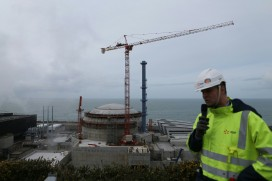 Construction of the EPR at Flamanville, northwest France