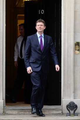 Greg Clark leaves 10 Downing Street as the new business, energy and industrial strategy secretary