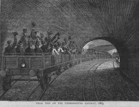 Long-term thinking is needed: the London Metropolitan Underground railway in 1863