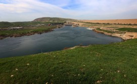 The Mosul Dam on the Tigris
