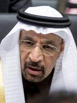 Saudi oil minister Khalid al Falih