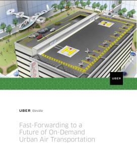 Uber's brochure