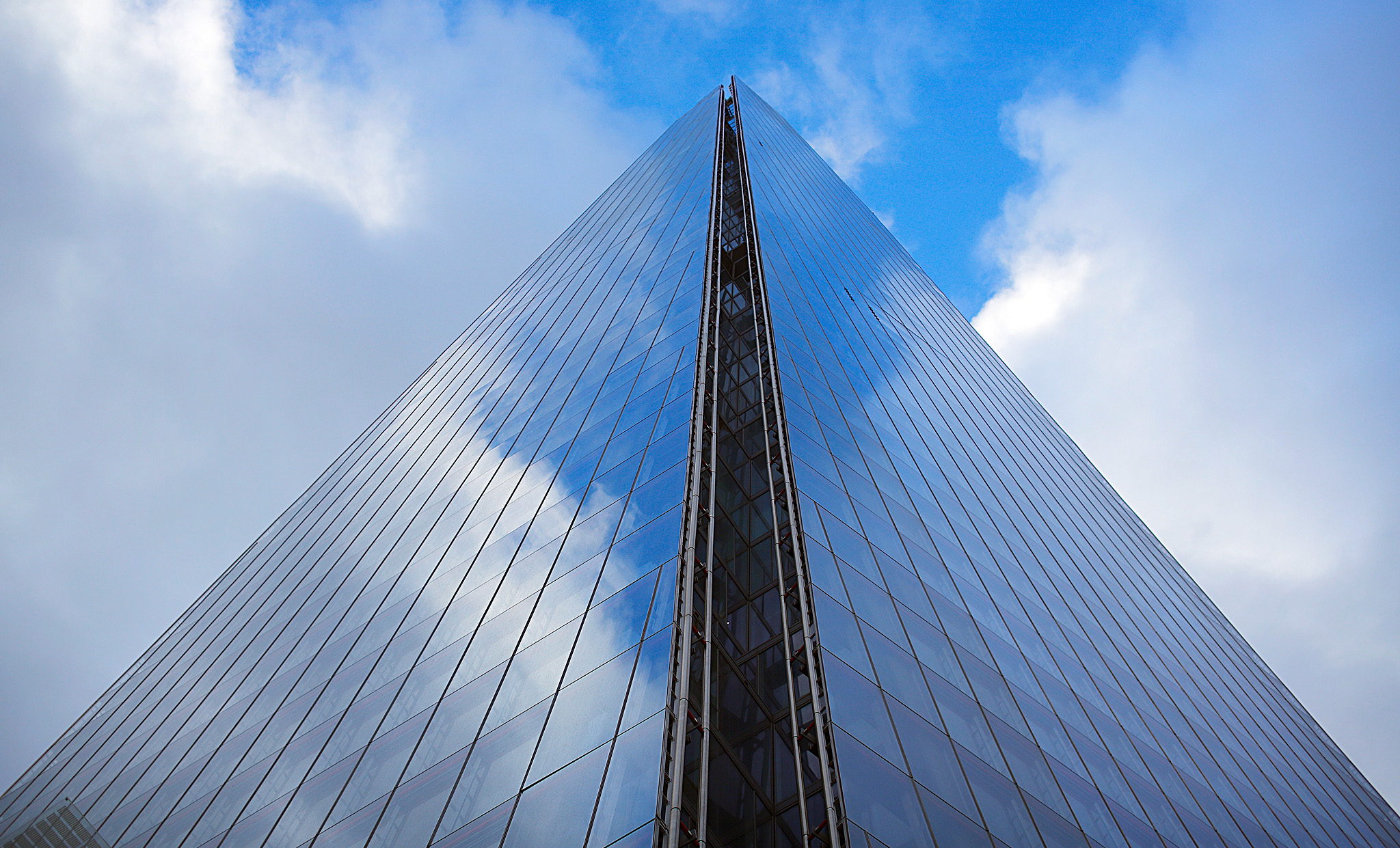 The Shard building.