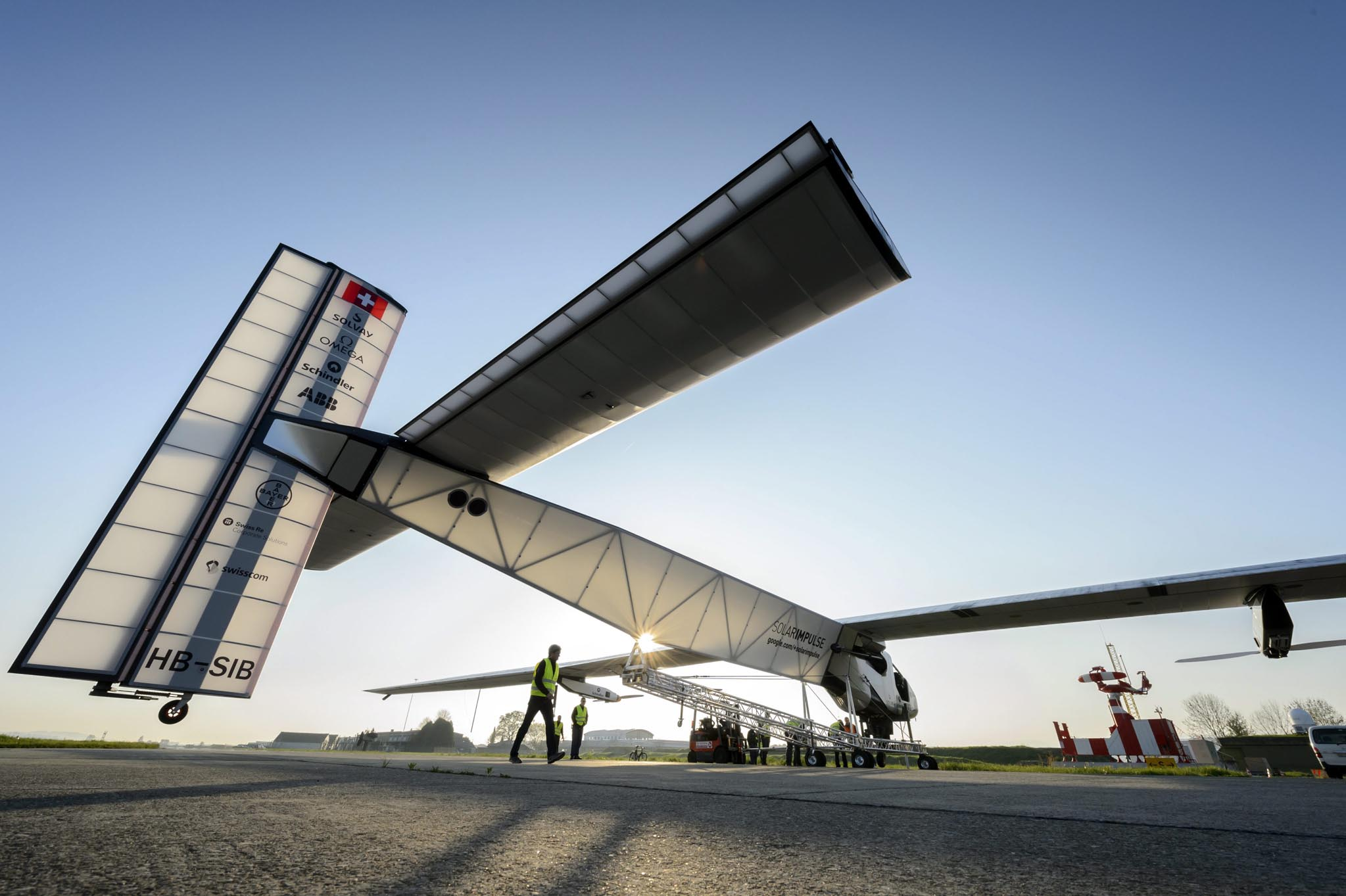 Experimental aircraft 'Solar Impulse 2',
