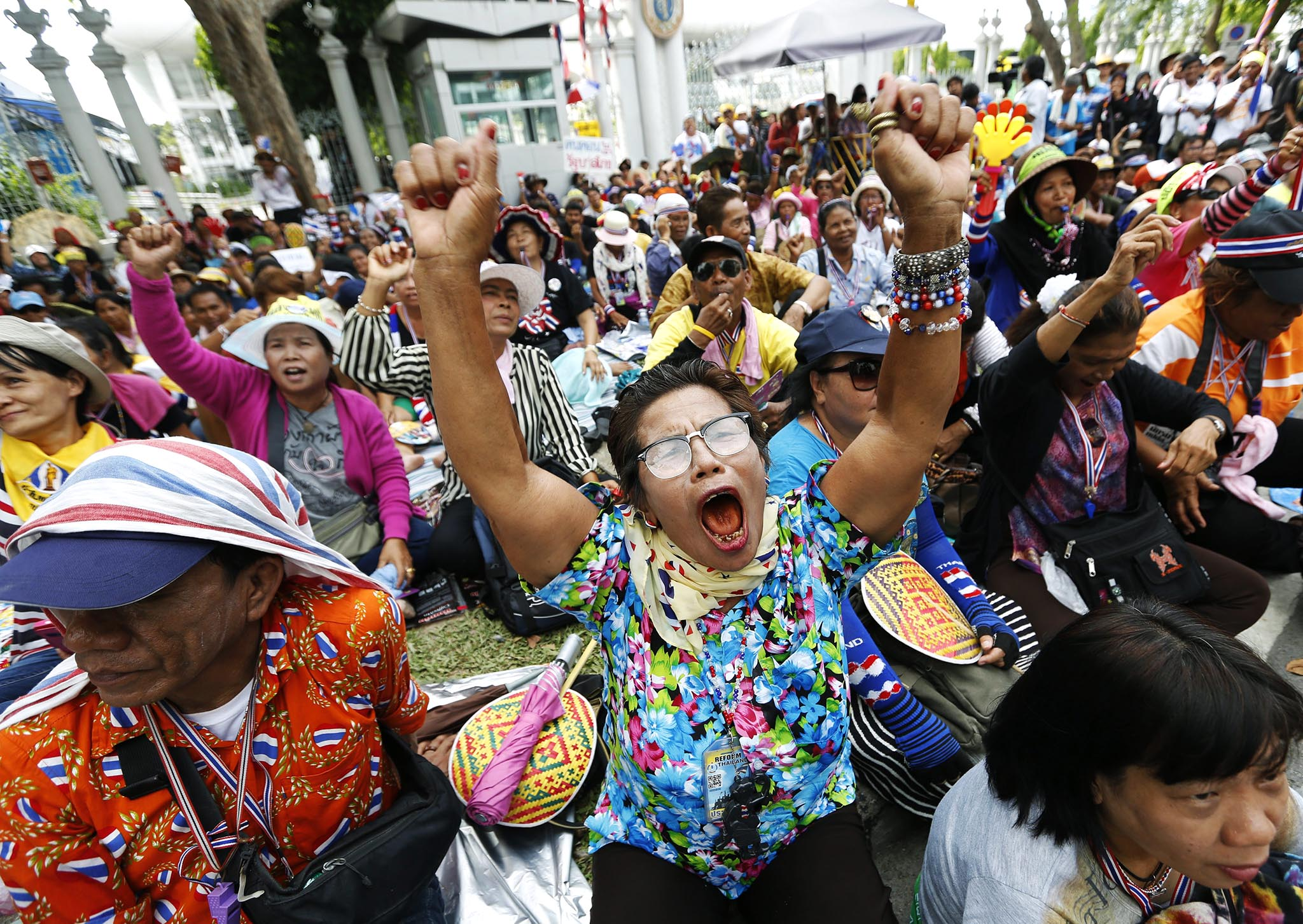Anti-government protests in Bangkok