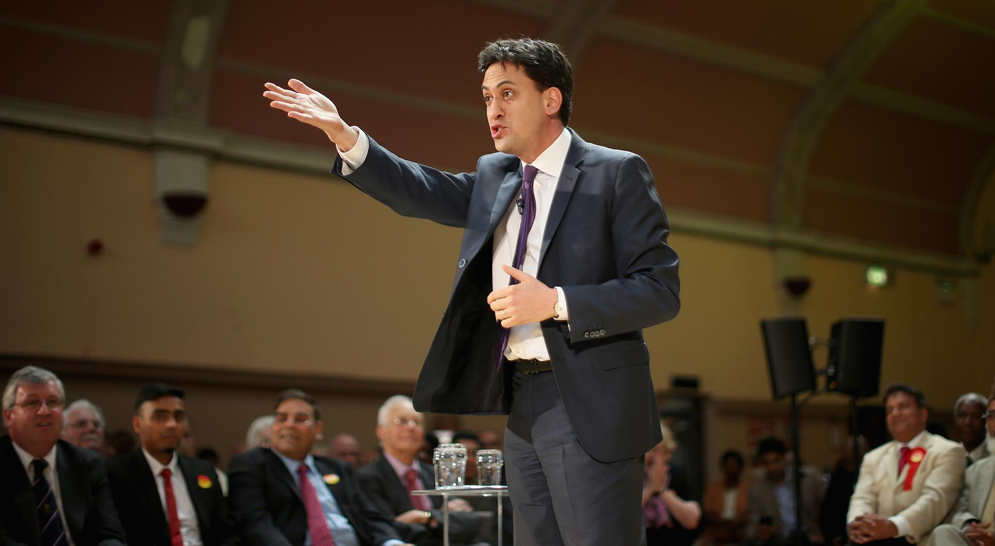 Labour Leader Ed Miliband Announces Minimum Wage Plans