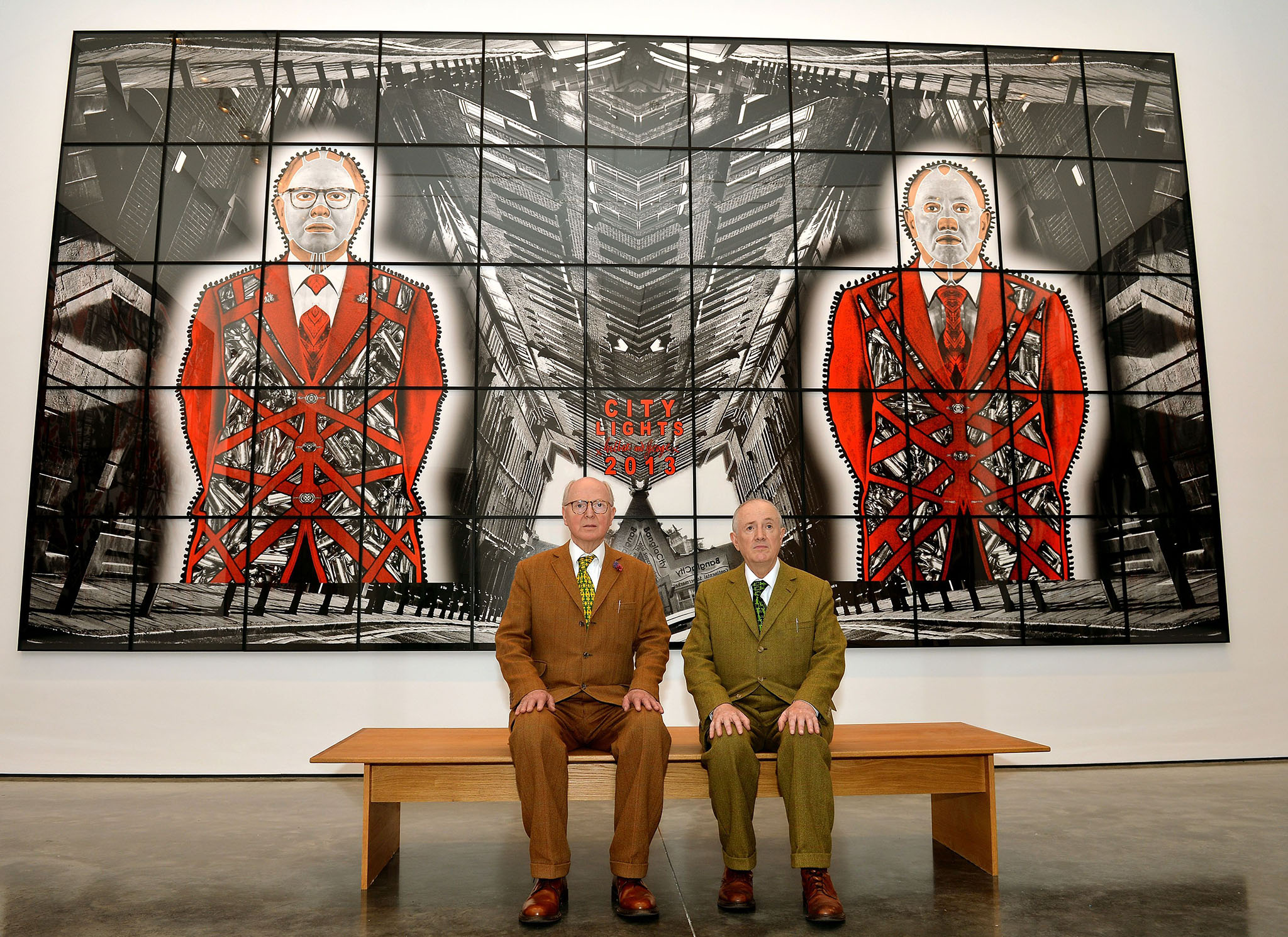 Gilbert & George: SCAPEGOATING PICTURES for London exhibition