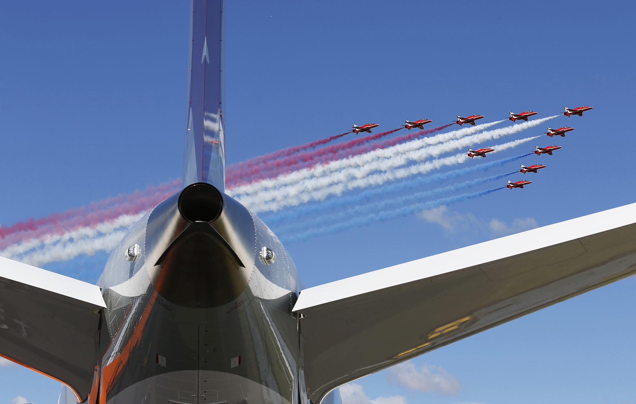Britain Farnborough Air Show