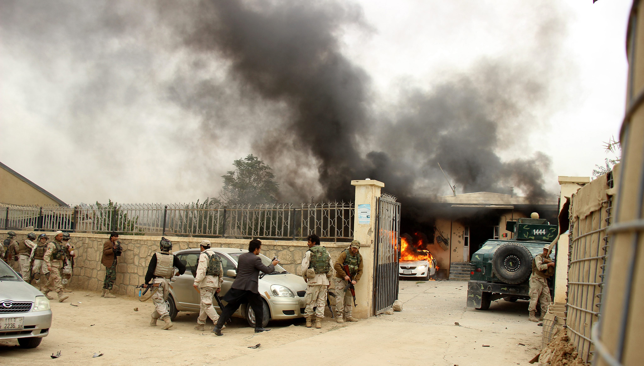 Suicide bombers target attorney general's office in Afghanistan