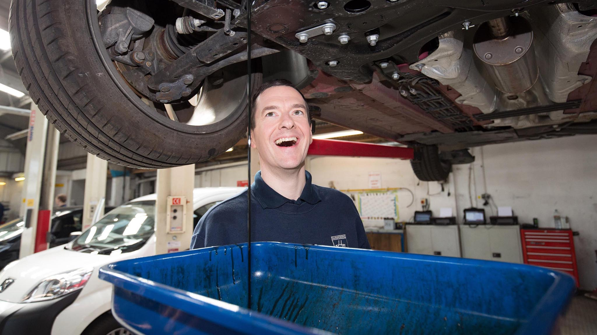 George Osborne On The Conservative Party Election Trail In The South West   ***BESTPIX***