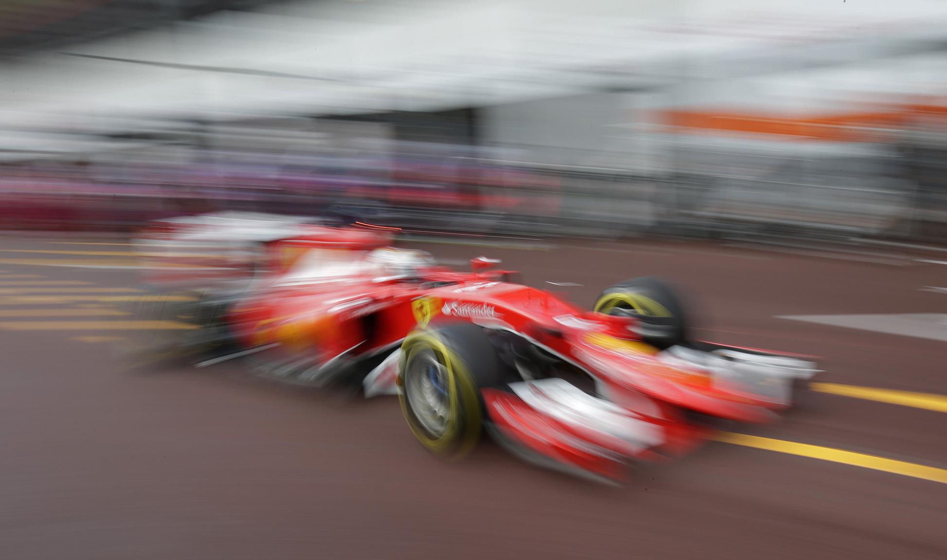 Formula One - F1 - Monaco Grand Prix 2015 - Circuit de Monaco, Monte Carlo - 21/5/15 Sebastian Vettel of Ferrari during practice Reuters / Max Rossi
