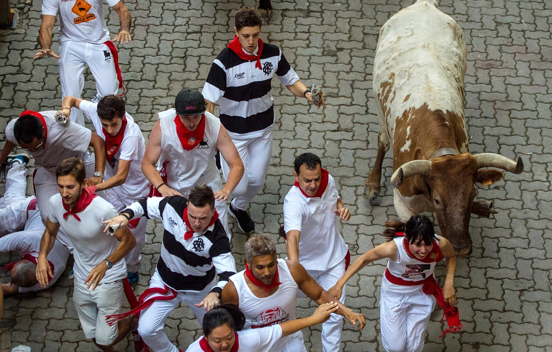 San Fermin Running of the Bulls