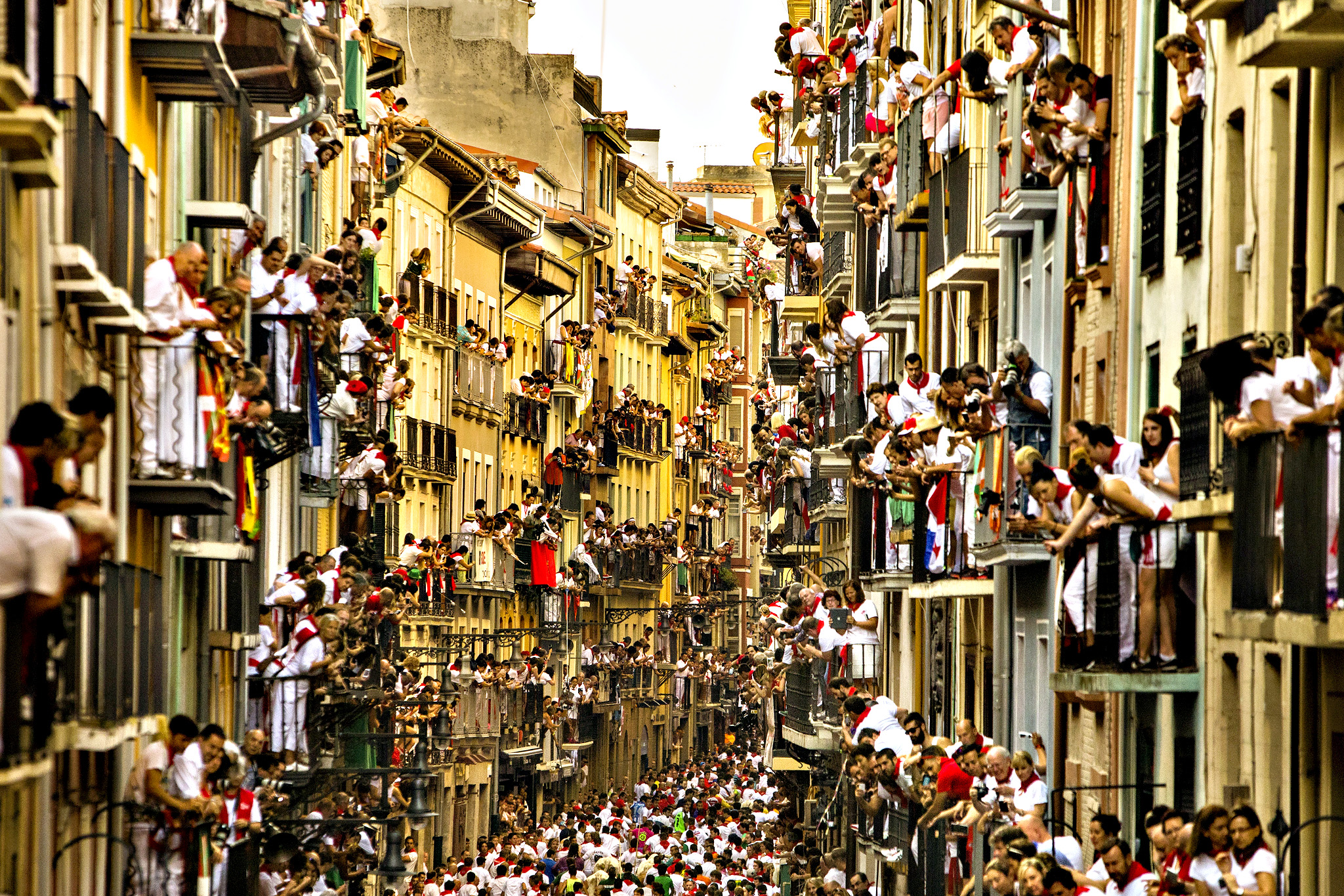 Pamplona Spain  City pictures : ... San Fermin festival, in Pamplona, Spain. 聖佛明節, 潘普洛納