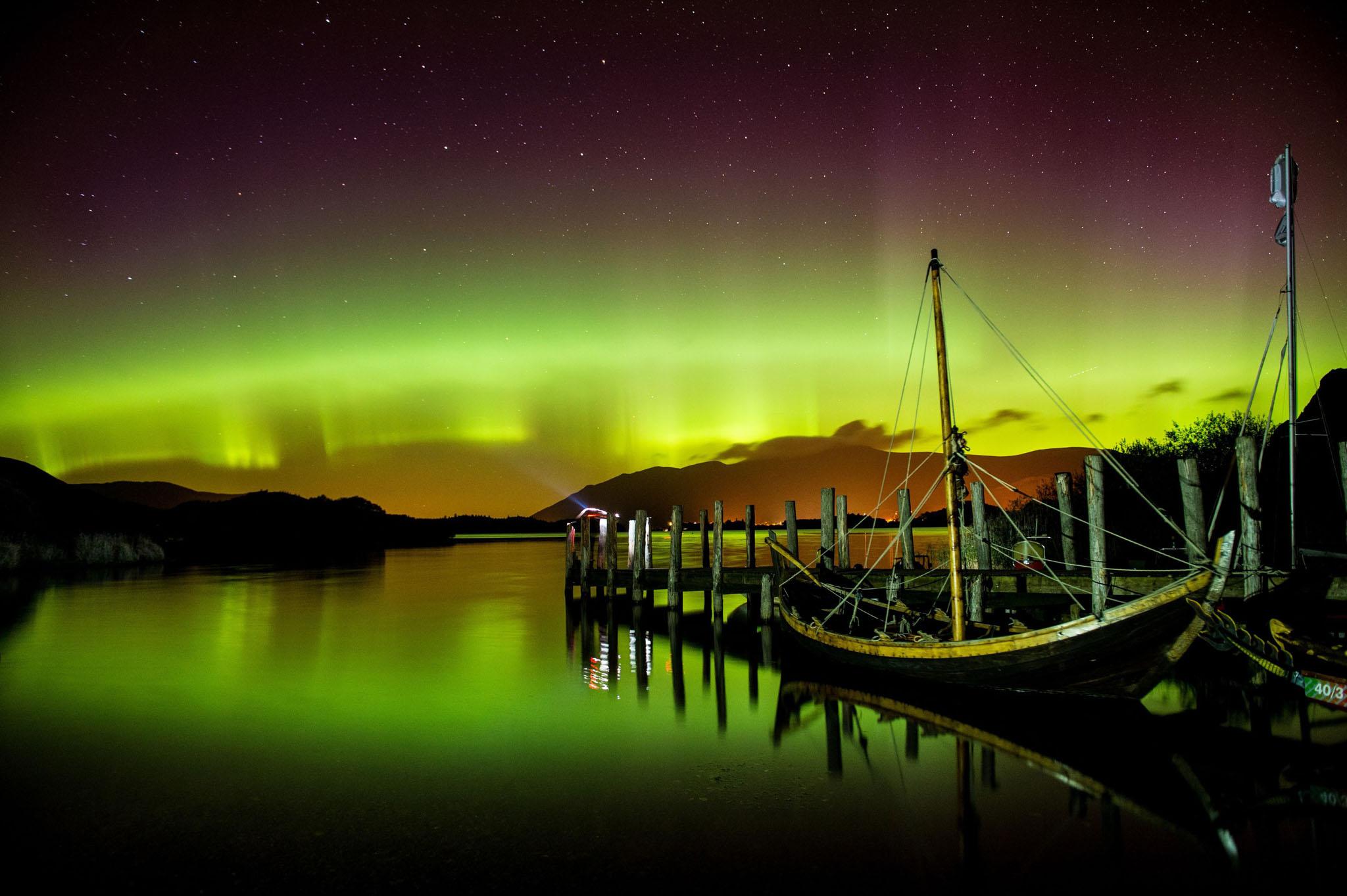 Some photos northern lights aurora borealis